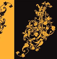 artistic swirls vector image