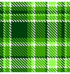 Seamless Checkered vector image vector image