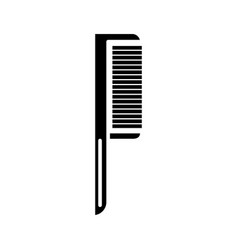 comb one icon black sign on vector image vector image
