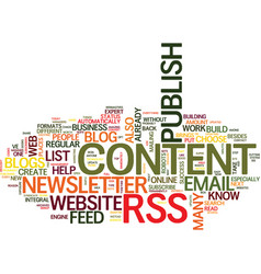 are you at risk of web content chaos text vector image