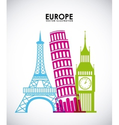 europe countries vector image