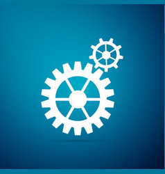 gear icon cogwheel gear settings sign cog symbol vector image