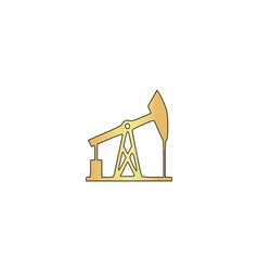 Oil pump computer symbol vector