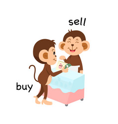 Opposite sell and buy vector