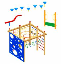 playground equipment vector image