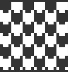 seamless geometric pattern tiled ornament vector image