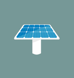 Solar panel icon sun energy panel vector