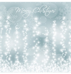 Stylized Colorful Christmas Card vector