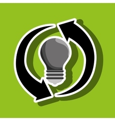 renewable energy isolated icon design vector image vector image