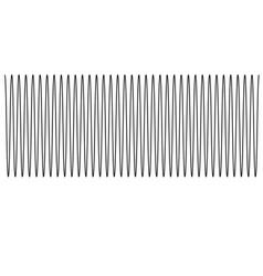 sound wave of equal level sound wave sign sound vector image