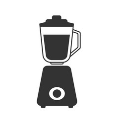 a gray stationary blender icon vector image