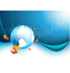 financial world vector image