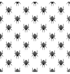 halloween pattern seamless in simple style vector image