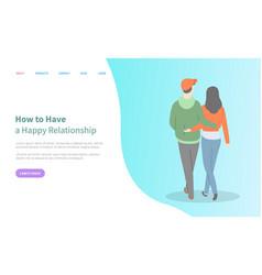 Hugging people relationship online web vector