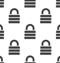 lock seamless pattern vector image