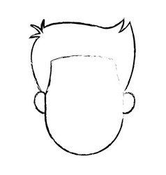Profile man avatar male portrait image vector