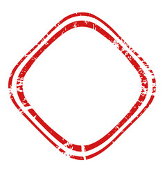 thin stamp grunge3 1 00 vector image