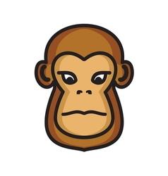 majmun icon3 resize vector image