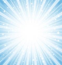 star burst background vector image