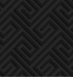Black textured plastic rectangle spirals fastened vector
