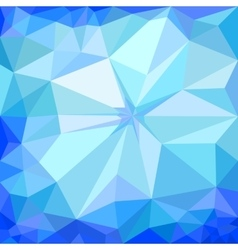 Winter blue ice background vector image vector image