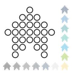Circle arrow up icon vector