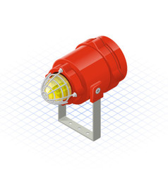 Isometric Beacon a Safety Equipment Tool vector image