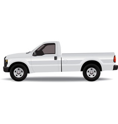 Pick-up truck vector image