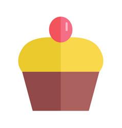 Pretty cake vector