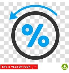 Rebate Percent Eps Icon vector