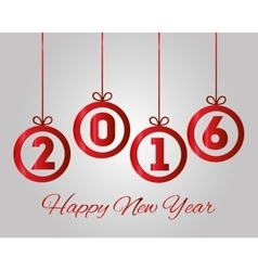 Happy new year graphic vector image vector image