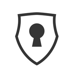 keylock security symbol vector image