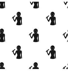 singerprofessions single icon in black style vector image