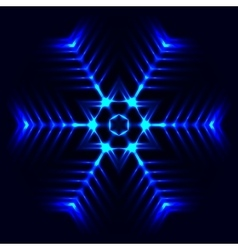 Abstract cosmic star vector