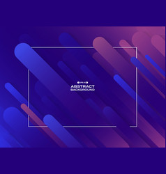 Abstract fluid purple violet cyan geometric line vector
