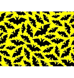 bat pattern vector image