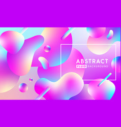 modern fllow abstract background vector image