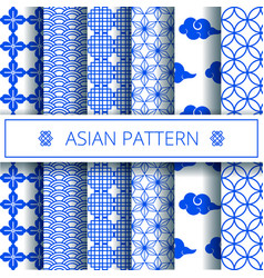 oriental asian traditional chinese korean japanese vector image
