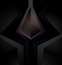 Techno surface scene vector