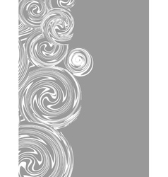 Invitation Swirling hand drawn drawing vector image vector image