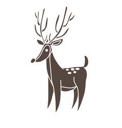 18255 deer vector