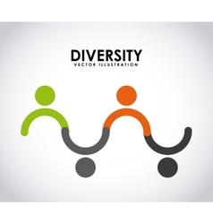 diversity concept vector image