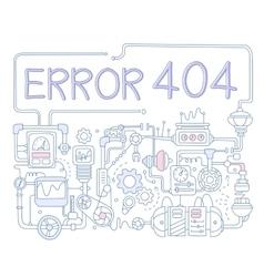 Error Infographics vector