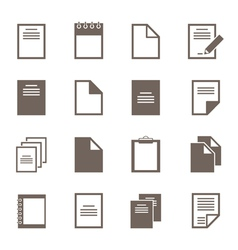 File an icon2 vector image