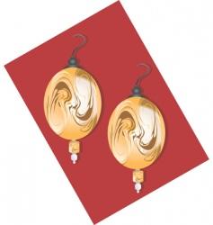 Golden earring vector
