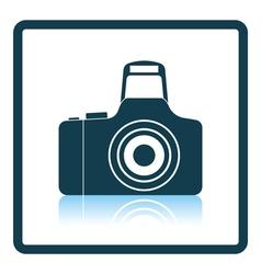 Icon of photo camera vector image