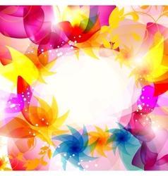 multicolor elegant background vector image