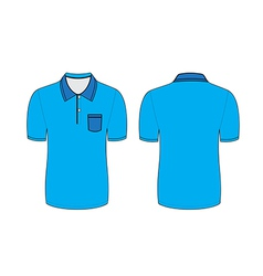 polo t shirt vector image