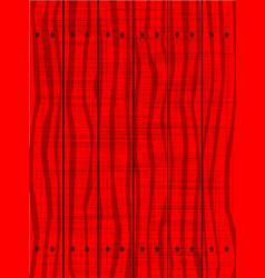 Red wooden grunge background vector