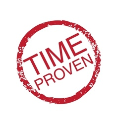 Time-Proven vector image